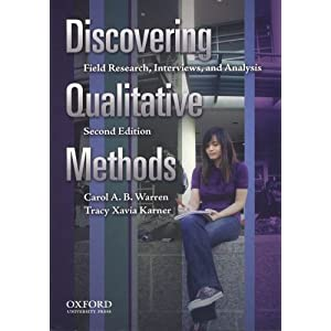 Discovering Qualitative Methods: Field Research, Interviews, and Analysis online