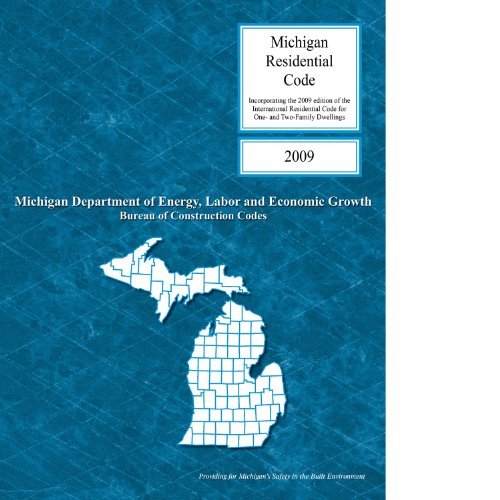 2009 Michigan Residential Code - ICC - 3100S09MI - ISBN:1580019919