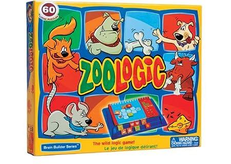 Smart Games - SG FM006 - Jeu enfant  - Zoologic - Jeu De Réflexion Et De Logique