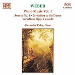 Weber: Piano Music, Vol. 1