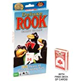 Deluxe Rook Card Game w/ Free Deck of Standard Playing Cards