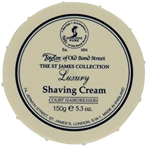 Taylor of Old Bond Street St. James Shaving Cream Bowl, 5.3 Ounce