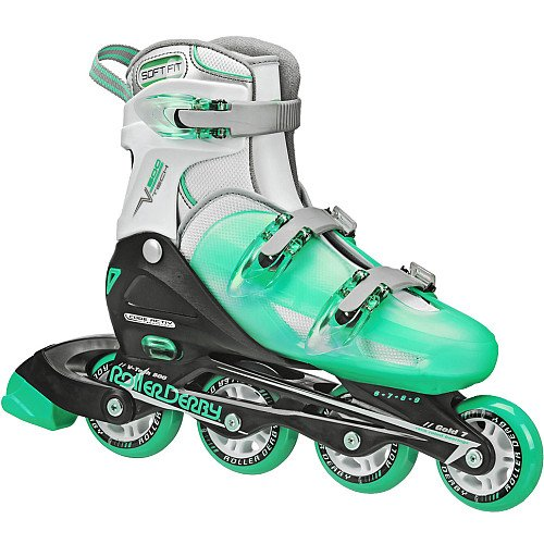roller-derby-womens-v-tech-500-button-adjustable-inline-skate-mint-size-6-9
