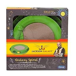 Petmate Jackson Galaxy Spiral Ball, Green