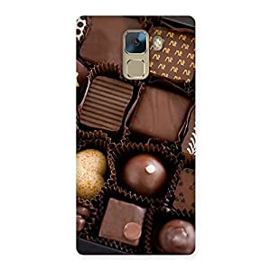 Sweet Choco Pack Back Case Cover for Huawei Honor 7