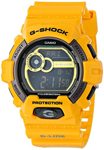 G-Shock GLS-8900-9 GLS-Winter G-Lide Classic Series Men's Stylish Watch – Yellow / One Size