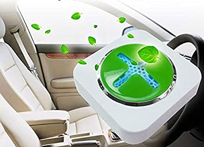 Mini Car Auto Negative Ion Air Oxygen Bar Freshener Air Purifier Ionizer Cleaner