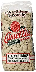 Camellia Baby Lima Beans, 1 Pound (Pack of 2)