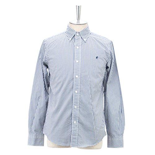 Gymphlex ジムフレックス メンズ ボタンダウンストライプシャツ[J-0643TSS]
