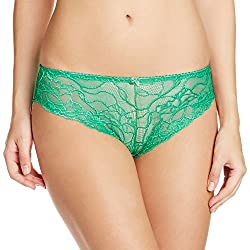 Bwitch Women's Cotton Panty (BW281-0018_Green_Small)