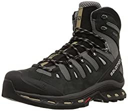 Salomon Men\'s Quest 4D 2 GTX Hiking Boot, Detroit/Black/Navajo, 12.5 M US