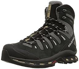 Salomon Men\'s Quest 4D 2 GTX Hiking Boot, Detroit/Black/Navajo, 11 M US