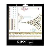 Kitsch Metallic Tattoos, Henna 1, 0.019 Ounce