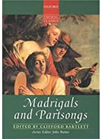 Madrigals and Partsongs - Cht/Po