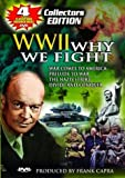 Cover art for  World War II: Why We Fight - 4 Historic War Films (War Comes to America; Prelude to War; The Nazis Strike; Divide and Conquer)