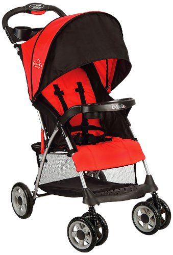 Best Price Kolcraft Cloud Plus Lightweight Stroller, Fire Red