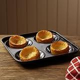 ProCook Non Stick Yorkshire Pudding Tray 24cm x 24cm x 2.5cm
