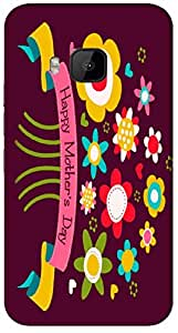 Timpax protective Armor Hard Bumper Back Case Cover. Multicolor printed on 3 Dimensional case with latest & finest graphic design art. Compatible with HTC M9 Design No : TDZ-27454