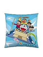 Euromoda Licencias Cojín Con Relleno Doraemon (Azul)