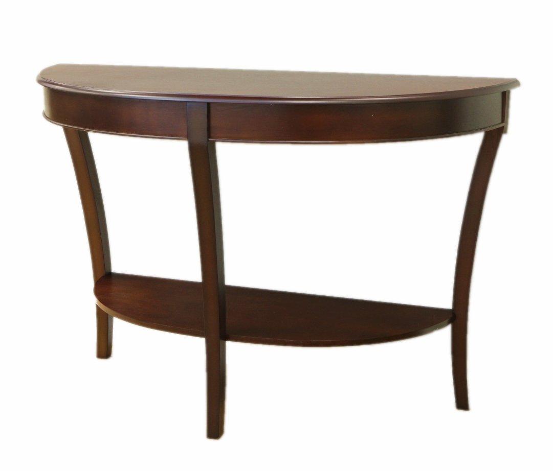 Frenchi Home Furnishing Half Round Sofa Table