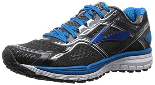 Brooks Ghost 8 M Scarpe da corsa, Uomo, Multicolore (Anthracite/Methyl Blue/White), 47 1/2