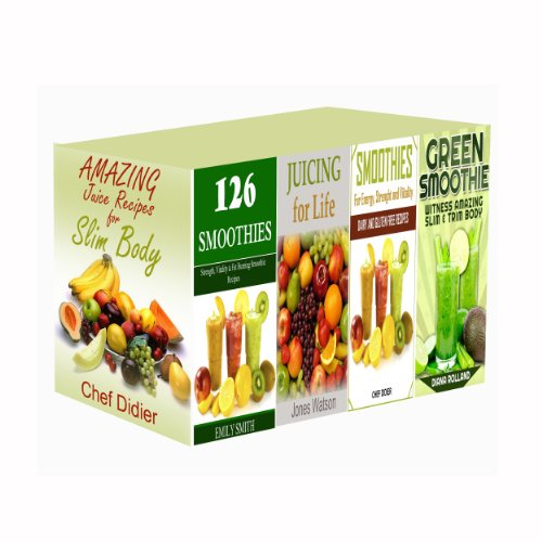 Boxed Set Juice and Smoothie Recipes by Chef Didier, Emily Smith, Jones Watson, Diana Rolland
