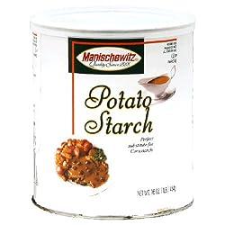Manischewitz, Potato Starch Canister, 16 OZ (Pack of 12)
