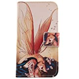 Lankashi PU Flip Leder Tasche Hülle Case Cover Schutz