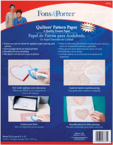 Fons and Porter Quilter's Pattern Paper
