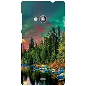 Nokia Lumia 535 Back Cover - Fabulous View Designer Cases