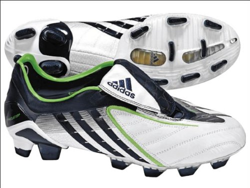 ADIDAS PREDATOR POWERSWERVE~FG BOOTS~098642~MENS~(FOOTBALL~F50 ADIZERO~LEATHER)