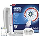 Oral-B White 6000 CrossAction Smart Series wiederaufladbare elektrische Zahnbürste