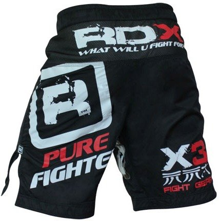 RDX Gel Fight Shorts UFC MMA Grappling Short Boxing NHB, L (33