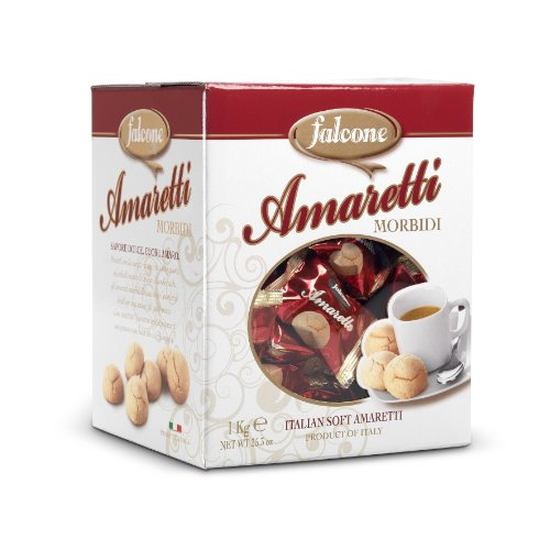 Italian Soft Amaretti Biscotti Cookies (35.3 ounce)