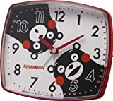 ご当地キャラクター 【くまモンめざまし時計】 赤色 4REA25-M01