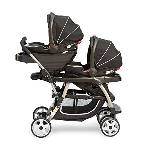 graco ready2grow click connect double stroller gotham reviews questions answers top. Black Bedroom Furniture Sets. Home Design Ideas