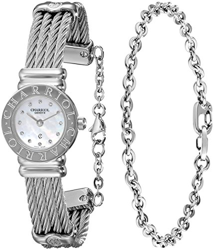 charriol-st-tropez-st20cs520ro004-21mm-silver-steel-bracelet-case-anti-reflective-sapphire-womens-wa