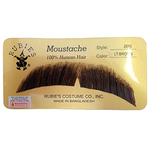 BASIC CHARACTER MUSTACHE, LIGHT BROWN [Apparel] - 1