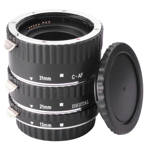 AF Macro Extension Tube Ring Set For Canon EOS EF 1100D 1000D 600D 650D 7D DC373