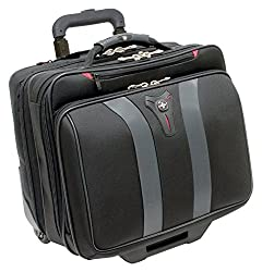 Wenger Granada Rolling Case Blk Nylon Fits Up To 17IN Notebooks