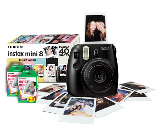 Fujifilm Instax Mini 8 Instant Camera & Film  - Black