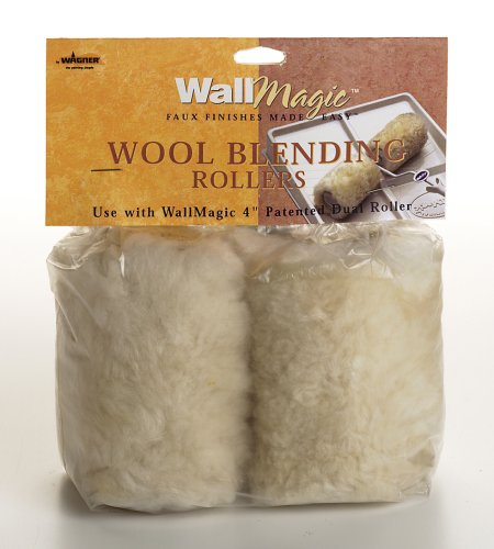 Buy Wagner WallMagic 4-Inch Wool Dual Roller Covers #0510092