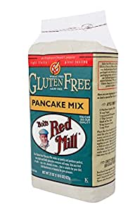 Bob's Red Mill Gluten Free Pancake Mix, 22-ounce (Pack of 4)