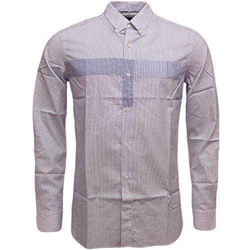 french-connection-camisa-casual-manga-larga-para-hombre-azul-azul-extra-large