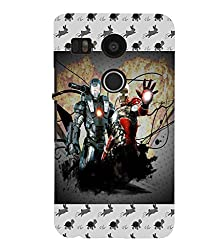 FUSON 3D Designer Back Case Cover for NEXUS5X D9776