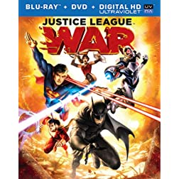 DCU Justice League: War [Blu-ray]