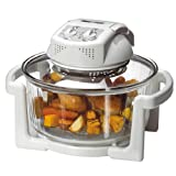 "#7: Easycook E737 ""Halogen styled"" 19L Health Oven - Premium French Crafted Glass Bowl + £50 of FREE accessories (inc. Ext. Ring, Lid Holder, Baking Tray, 3 Cooking Racks & Cookbook (110 recipes) - Ships the next business day, after day of ordering!"