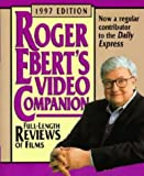 Roger Ebert's Video Companion (0747533075) by ROGER EBERT