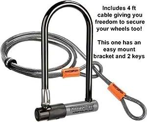 Kryptonite Series 2 Shackle D Lock, LATEST IMPROVED MODEL! (Free UK Postage)