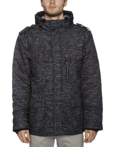 BILLABONG Delta Men's Jacket Dark Grey Large